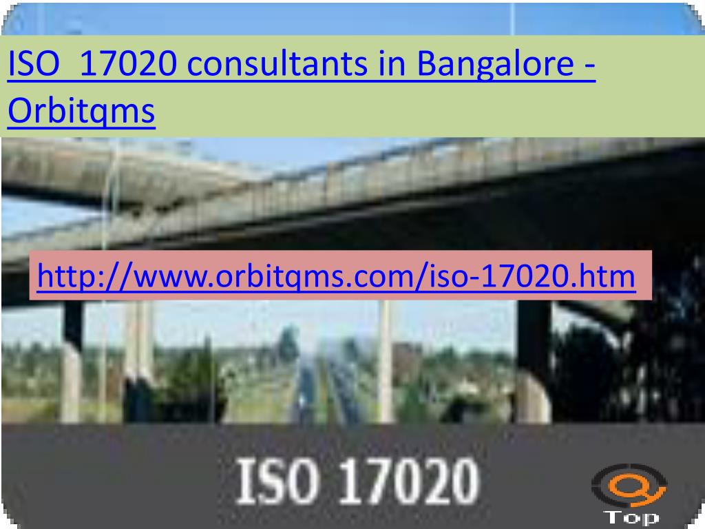 PPT - iso 17020 consulting service in bangalore PowerPoint