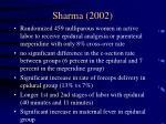 sharma 2002