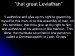 that great leviathan