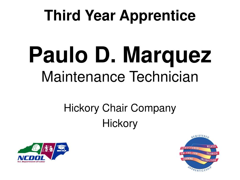 Third Year Apprentice