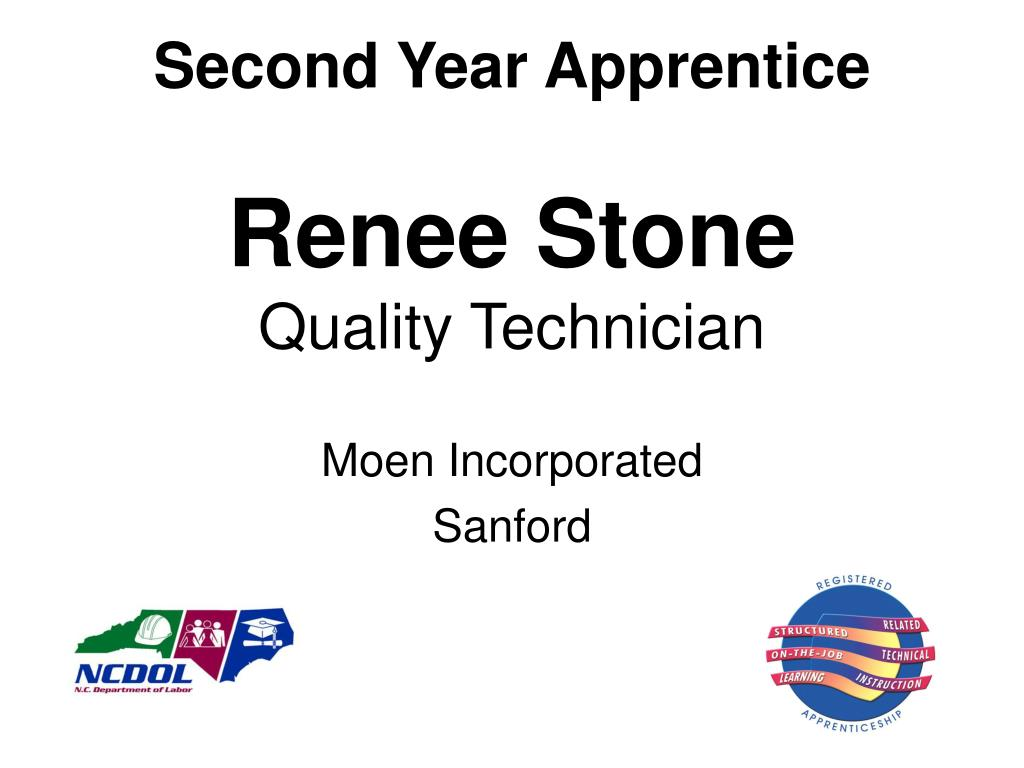 Second Year Apprentice