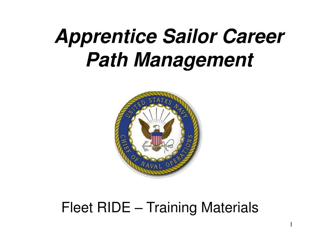 Apprentice Sailor Career Path Management