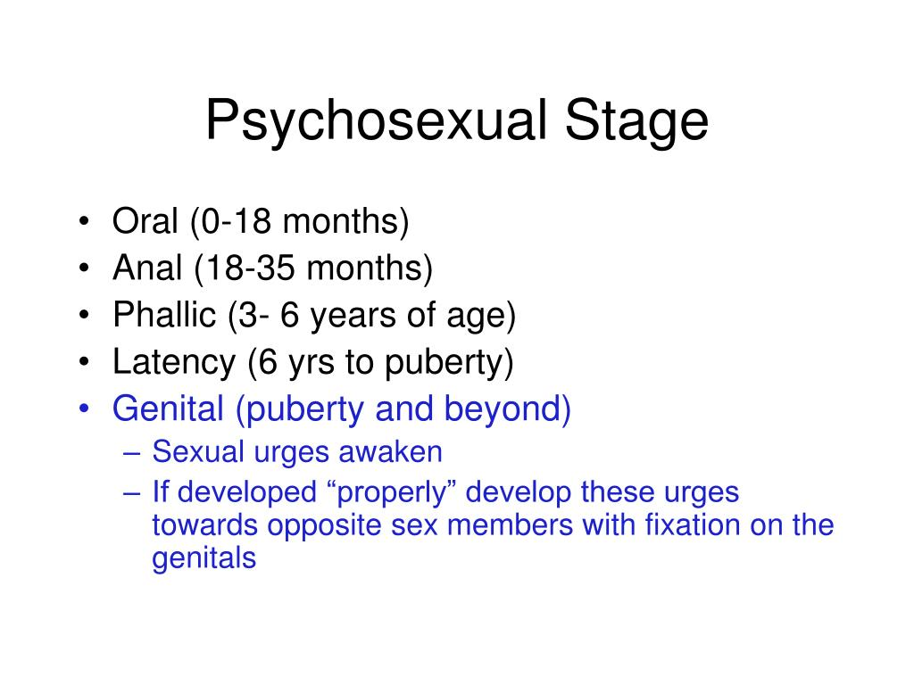 Psychosexual Stage