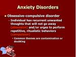 anxiety disorders11