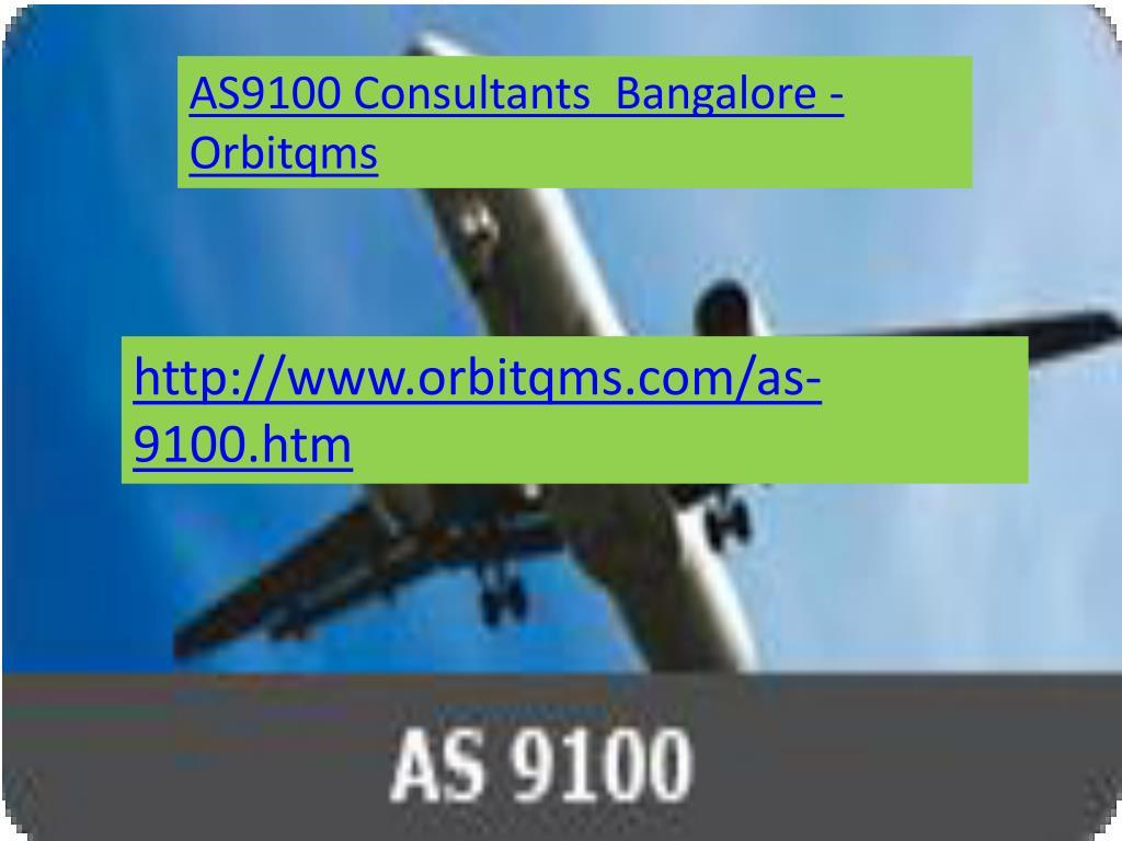 AS9100 Consultants  Bangalore - Orbitqms