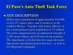el paso s auto theft task force