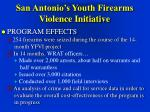 san antonio s youth firearms violence initiative30