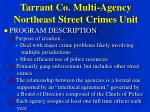 tarrant co multi agency northeast street crimes unit10