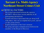 tarrant co multi agency northeast street crimes unit12