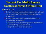 tarrant co multi agency northeast street crimes unit9