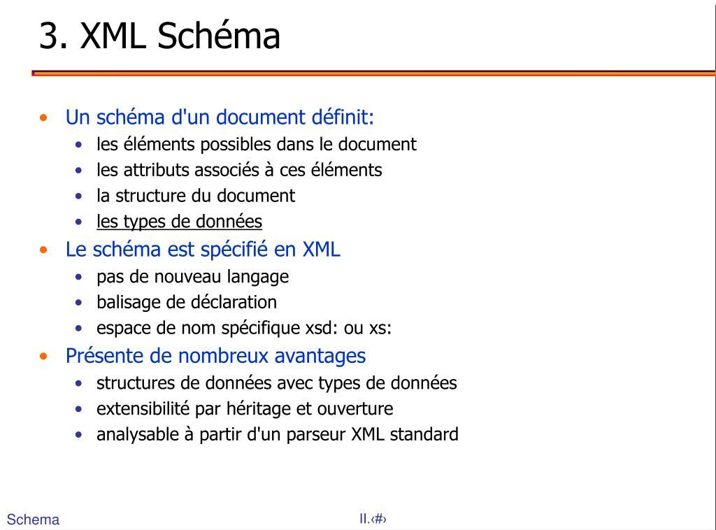 3. XML Schéma