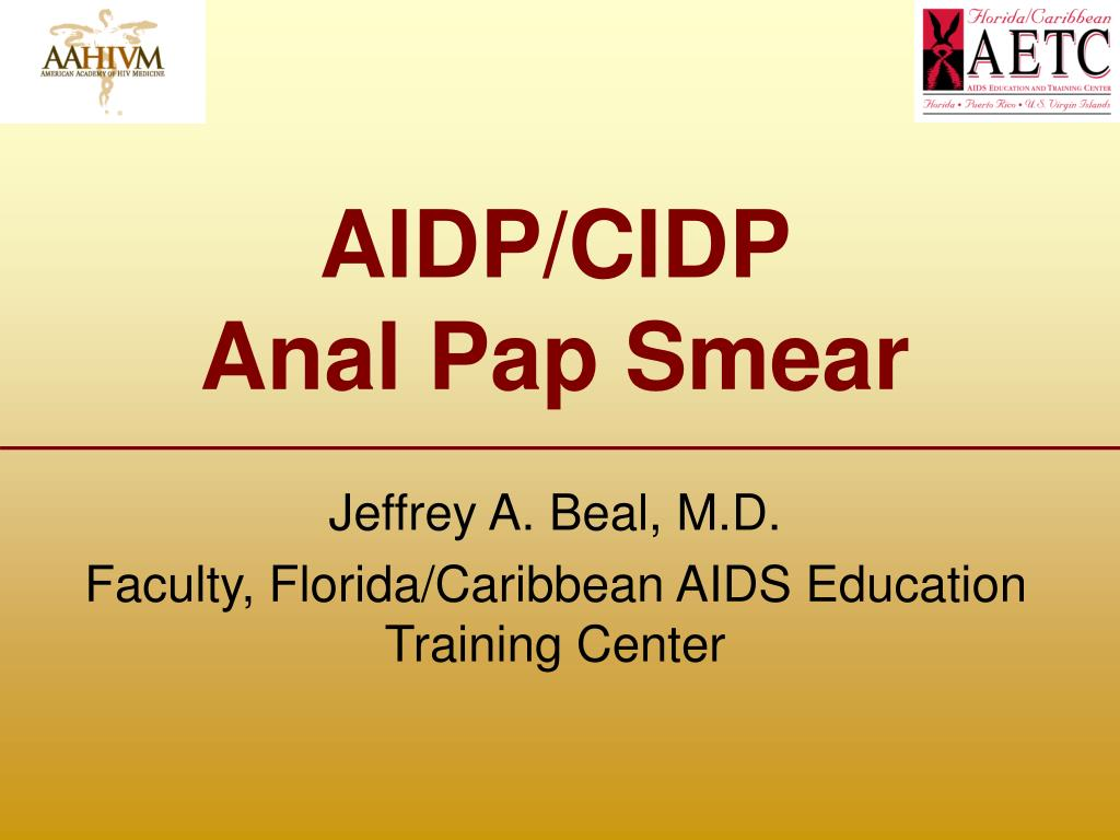 aidp cidp anal pap smear l.