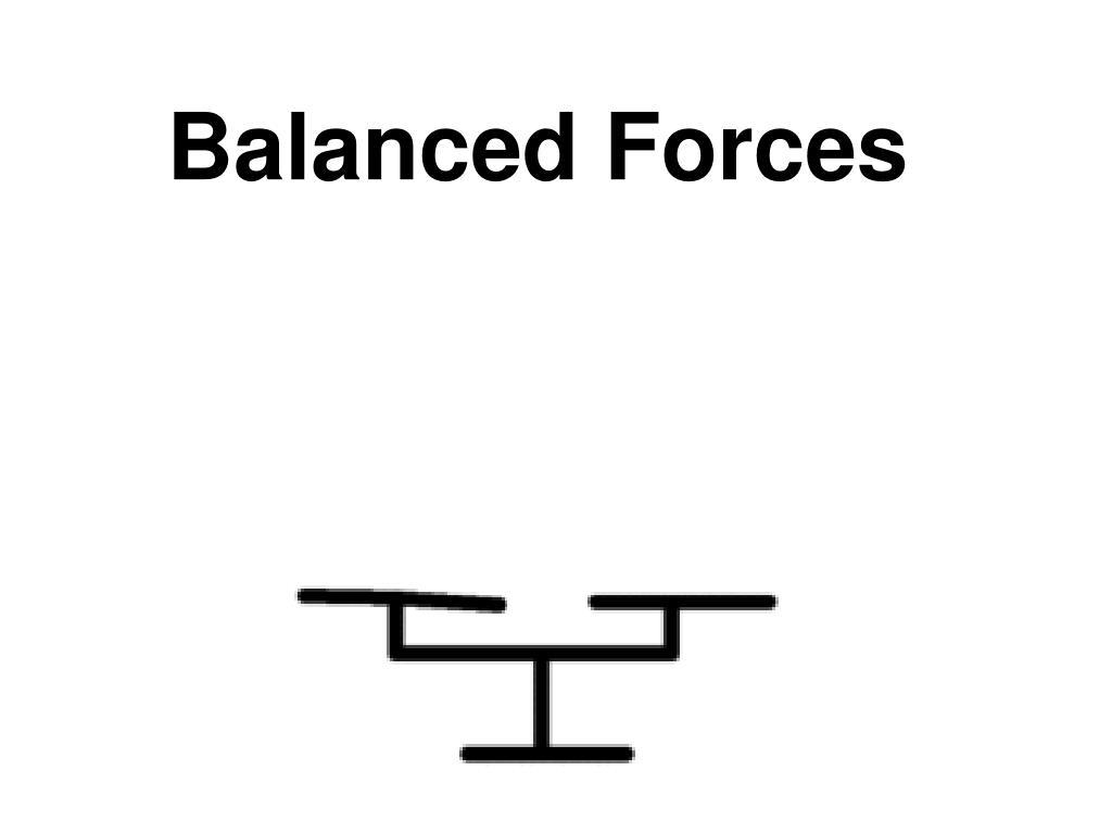 balanced forces l.