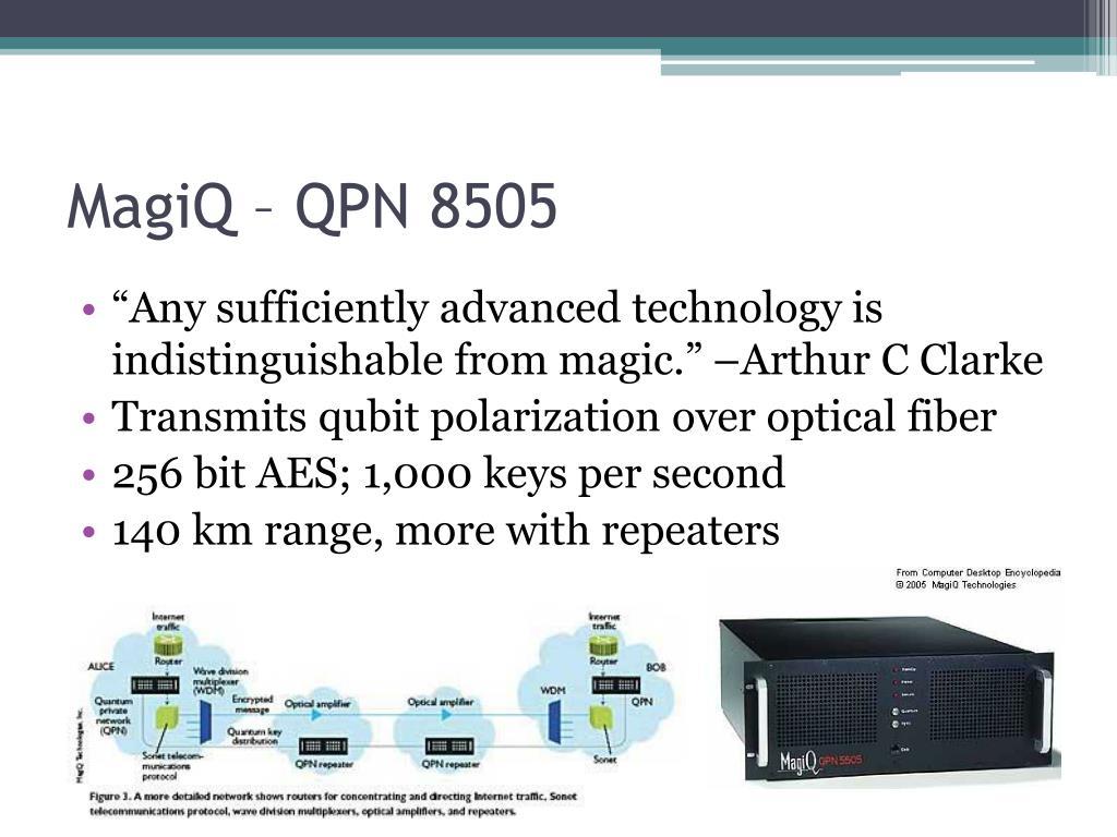 MagiQ – QPN 8505