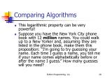 comparing algorithms29