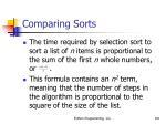 comparing sorts101
