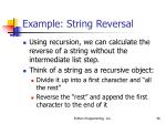example string reversal46