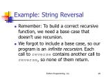 example string reversal49