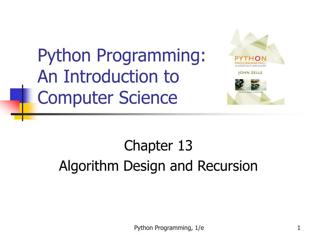 python programming an introduction to computer science l.