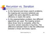 recursion vs iteration68