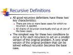 recursive definitions40