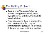 the halting problem124