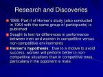 research and discoveries16