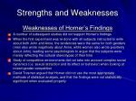 strengths and weaknesses23