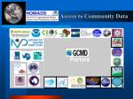 gcmd access to community data