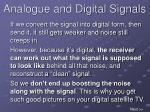 analogue and digital signals11