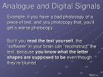 analogue and digital signals13