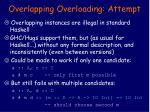 overlapping overloading attempt26