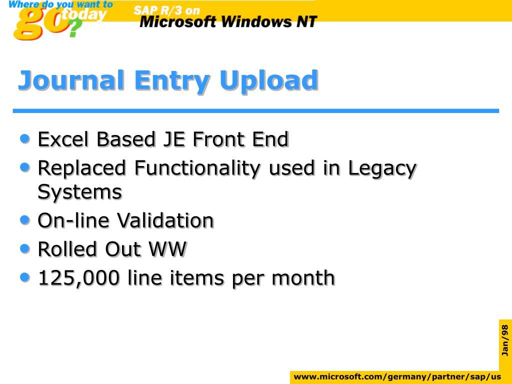 PPT - SAP & Microsoft PowerPoint Presentation - ID:16133