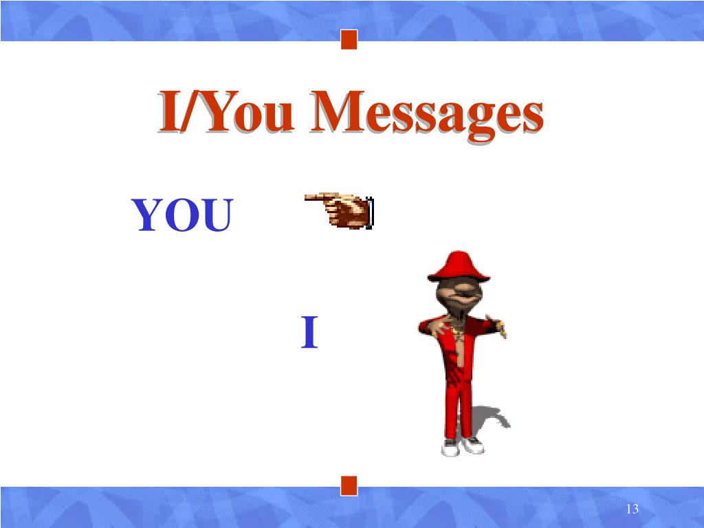 I/You Messages