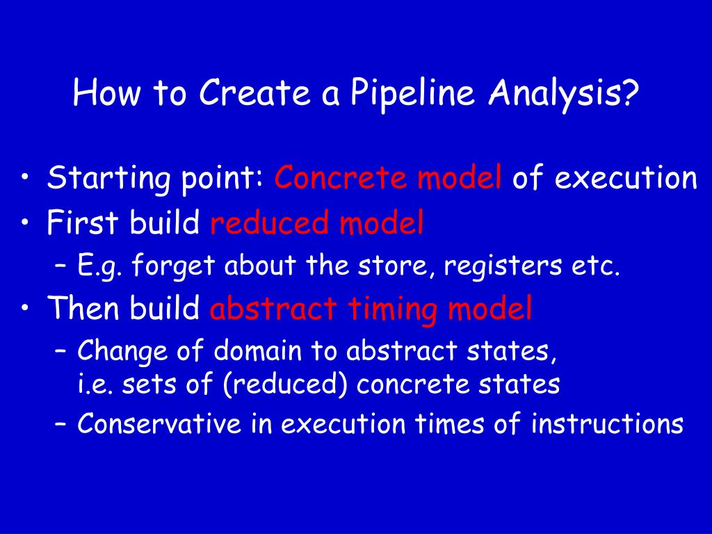 How to Create a Pipeline Analysis?