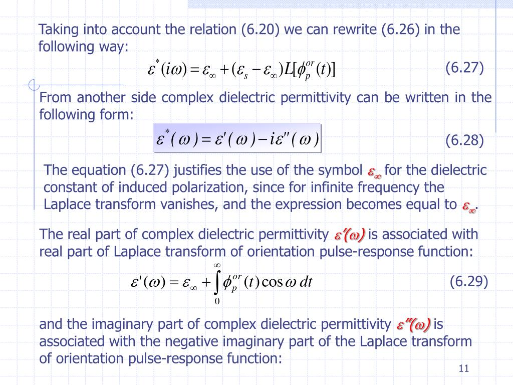 Taking into account the relation (6.20) we can rewrite (6.26) in the following way: