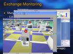 exchange monitoring