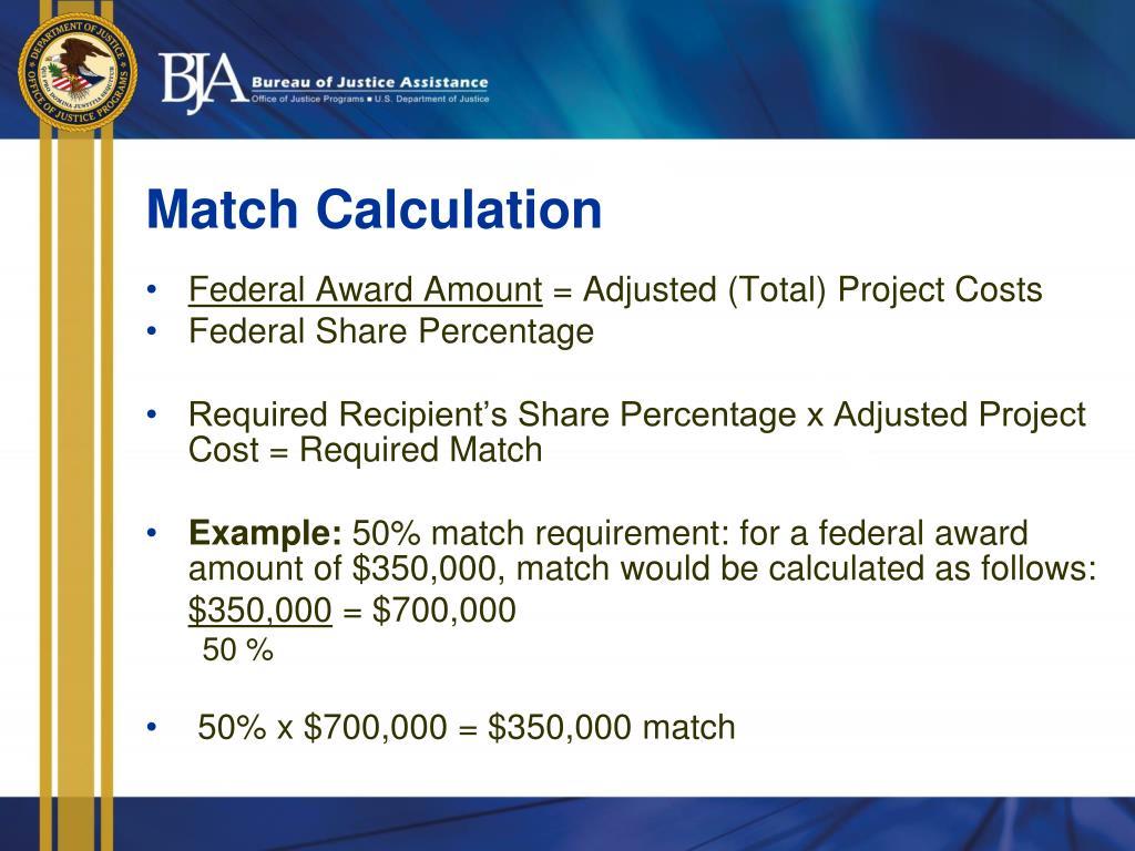 Match Calculation