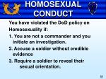 homosexual conduct55