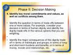 phase ii decision making2