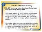 phase ii decision making2