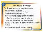the moral ecology3
