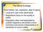 the moral ecology5