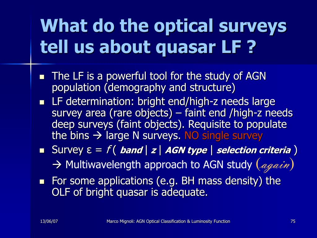 What do the optical surveys tell us about quasar LF ?