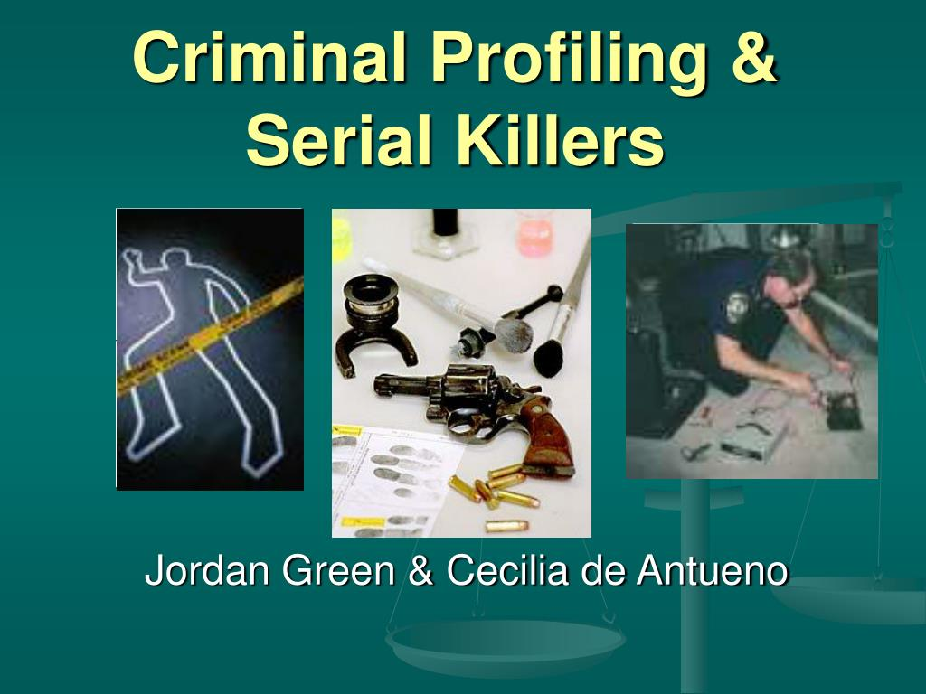 criminal profiling serial killers l.