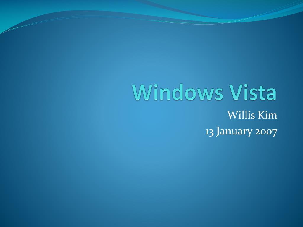 windows vista l.