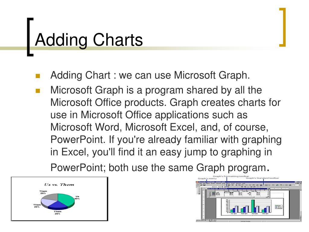 Adding Charts
