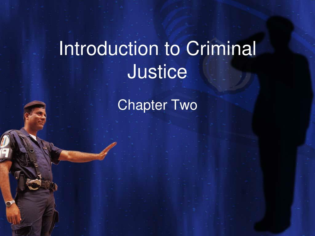 introduction to criminal justice l.