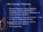 life course theories