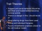 trait theories6